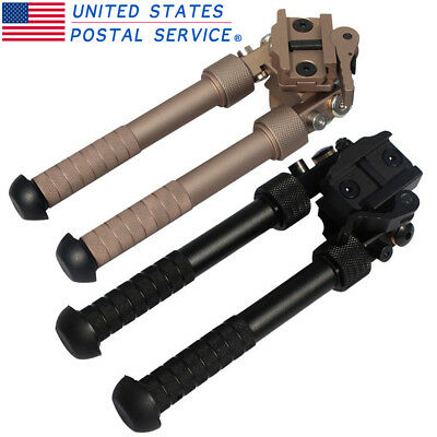 "Hunting Bipod 4.75""-9"" Tactical QD 20mm Picatinny Rail Mount Foldable Adjustable"