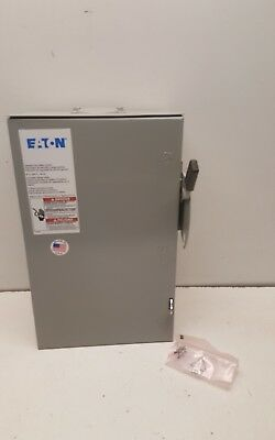 NEW Eaton DG322URB General Duty Safety Switch 240Vac 60 Amps 3 Pole (TP)