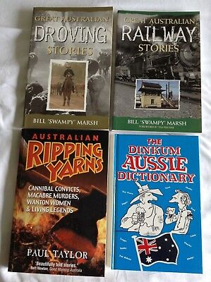 4 AUSTRALIAN STORIES BOOKS Bulk Lot!