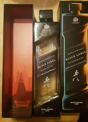 Blade Runner 2049 Johnnie Walker Black Label The Director's Cut bottle/box only