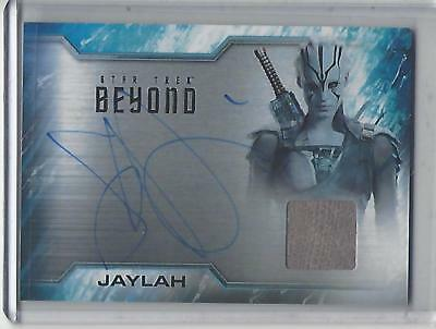 Star Trek Beyond Movie (2017) Sofia Boutella autograph/relic