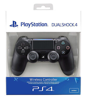 PS4 DualShock 4 Controller Black 4 V2 BRAND NEW SEALED OFFICIAL PAL