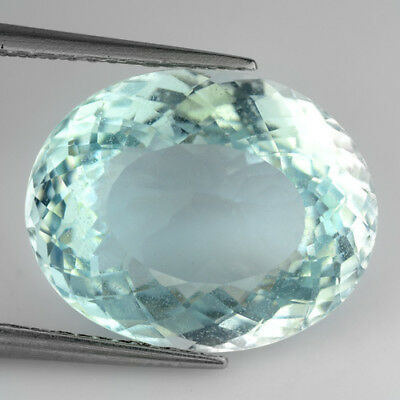 7.40Ct AMAZING RAREST ! TOP RICH STUNNING FIRE SEA AQUA BLUE COLOR AQUAMARINE