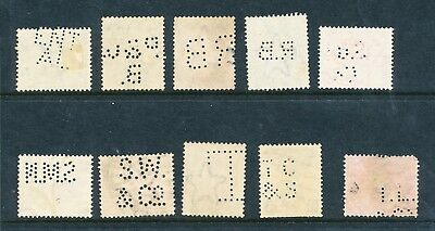 10 Indian Perfins (248)
