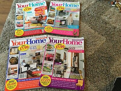 Your Home Magazines x 4