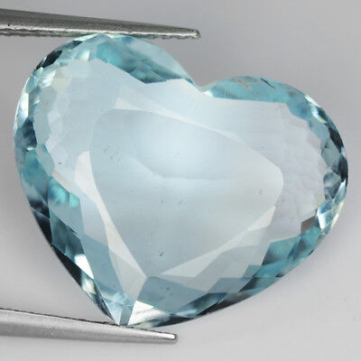 9.99Ct AMAZING RAREST ! TOP RICH STUNNING FIRE SEA AQUA BLUE COLOR AQUAMARINE