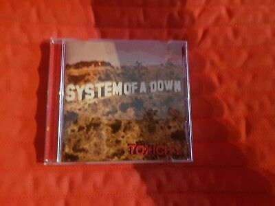 System Of A Down - Toxicity (2001) CD Album Nu Metal / Metal