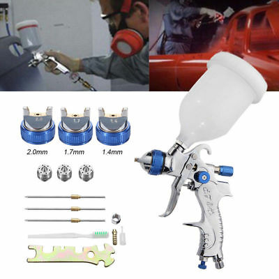 2008HVLP-Auto-Paint-Air-Spray-Gun-Kit-Gravity-Feed-Car-Primer-1-4MM-2-0MM