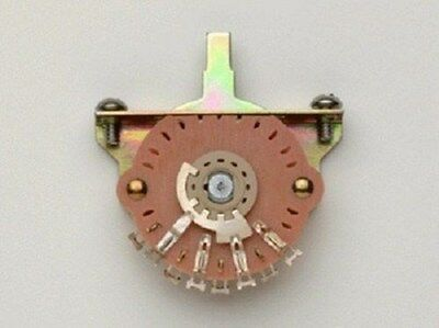 NEW - Oak Grigsby 5-Way Switch For Fender Strat, Stainless Steel Screws