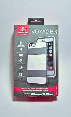 Pelican ProGear Voyager Case & Holster w/ Screen Protector iPhone 6 Plus/6s Plus