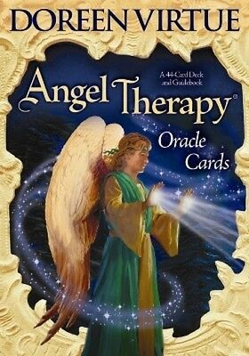 Hay house Angel Therapy Deck & Guidebook Doreen Virtue Oracle Cards Set