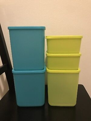 Tupperware Modular Containers, Set Of 5