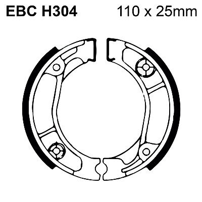 EBC Organic Brake Shoes and Spring Kit H304 for Honda CRM 75 89-94