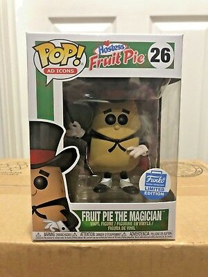 Funko Pop! Ad Icons Hostess Fruit Pie The Magician #26 Funko Shop Exclusive New!