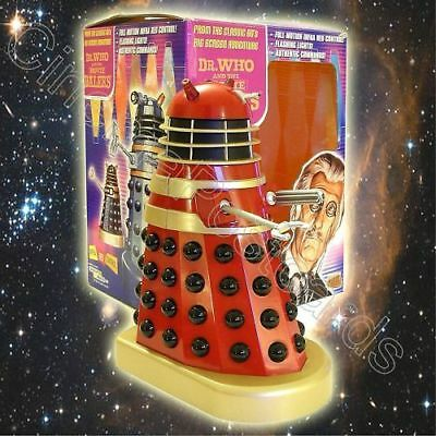 Dr Doctor Who Classic Movie Dalek Scale Model Figure (missing TARDIS Remote)