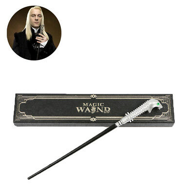 Cosplay Lucius Malfoy Harry Potter Magic Magical Wand In Box Collect Gifts HOT
