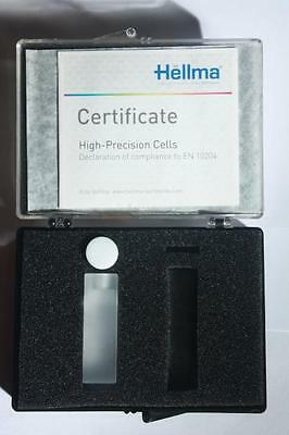 Micr cell 115-QS LP 10mm, VOL 400µl cuvette Hellma quartz Spectroscopy cuvettes