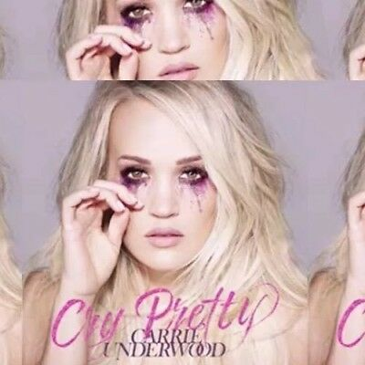 CARRIE UNDERWOOD * CRY PRETTY (2018, CD) Brand New!!!