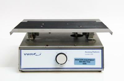 VWR Scientific 200 Rocking Mixer Shaker Variable Speed Platform (6286)