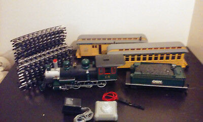 Bachmann G Scale 2007 OSH Orchard Supply Advertising Rare Complete Train Set