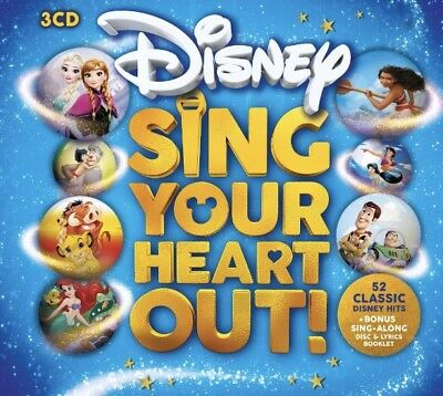 Disney Sing Your Heart Out BRAND NEW 3CD