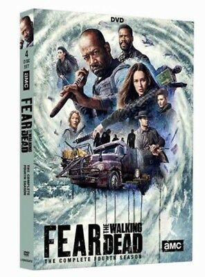Fear the Walking Dead Season 4 DVD Brand New & Sealed Free postage