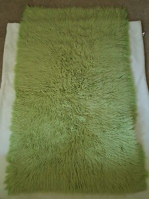 Genuine Flokati Greece 100 New Zealand Wool 3 X5 Lime Green Fur