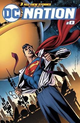 DC NATION #0 1/100 SUPERMAN VARIANT 1st APPEARANCE MISS ROBINSON GOODE RED CLOUD