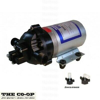 Shurflo 8000-547-189A, 12v high pressure pump, FREE hose connections included