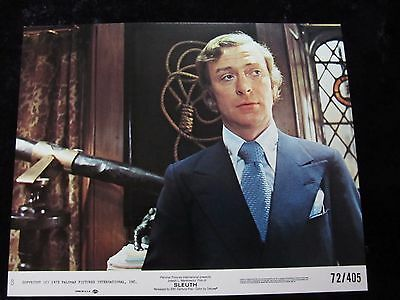 Sleuth lobby cards - Laurence Olivier, Michael Caine - mini set of 8 (1972)
