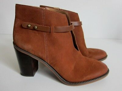 fb5a62c8be01d FRANCO SARTO WOMEN S Ankle Boot - 8 Grey Brown Bootie Weston Wedge ...
