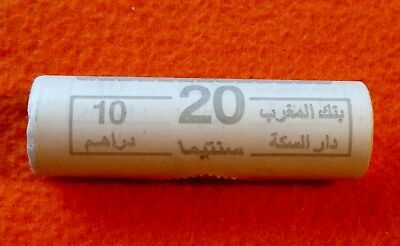 Morocco - 20 Santimat 2016 - original UNC roll from central bank of Morocco!