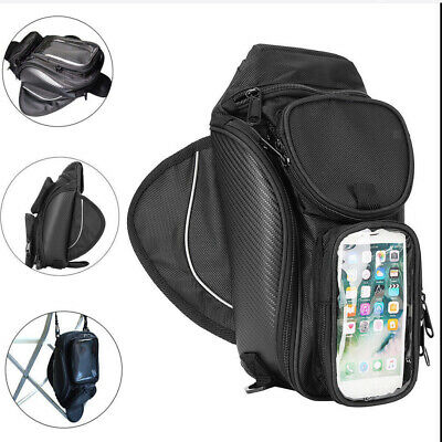 New Motorcycle Magnetic Gas Tank Bag Cruiser Gear Phone / GPS / Helmet Pouch