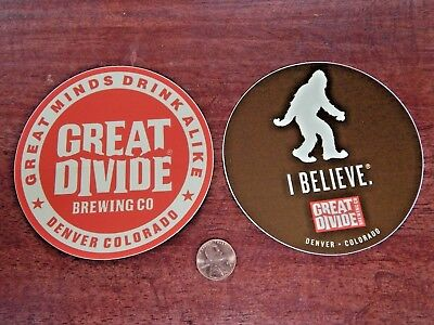 Great Divide Brewing Craft Micro Brewery Beer Sticker Decal Colorado