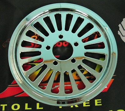 """Ultima Chrome King Spoke Pulley 1"""" Wide, 70 Tooth 99'- Earlier & 00'- Later"""