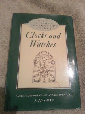 Clocks & Watches/Antique Collector's Clock and Watch Guide Book