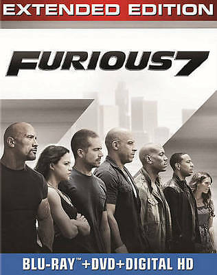 Furious 7 [Blu-ray + DVD + DIGITAL HD with UltraViolet]