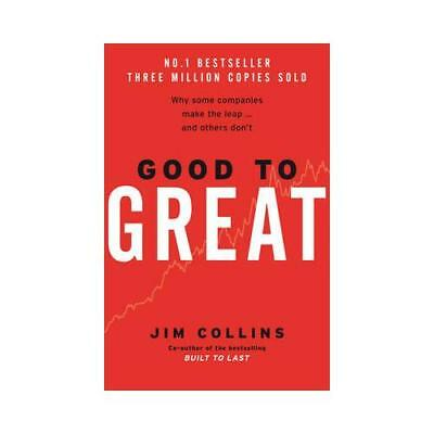 Good to Great by Jim Collins (author)