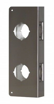 "Don Jo 151-S-CW Door Wrap Around Reinforcer Double Lock/Deadbolt 3-5/8"" centers"