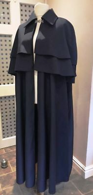 Victorian Dickensian Gents Cloak / Cape Outfit
