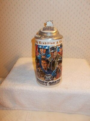 1999 Budweiser COAST GUARD Honoring Tradition & Courage Stein Fifth in Series