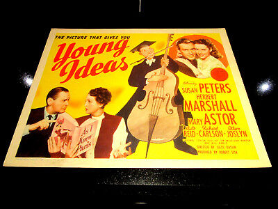 Young Ideas, Petes, Marshall, Astor,  Original Title Card,. 1943