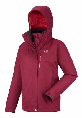 Millet LD POBEDA 3 in 1 Jacket size XXL UK 20 (Small fitting would fit 16-18)