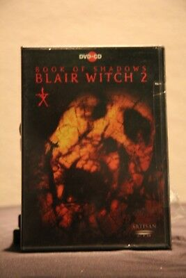 Book of Shadows: Blair Witch 2 (DVD, 2001, DVD-Video and CD Soundtrack) - Used