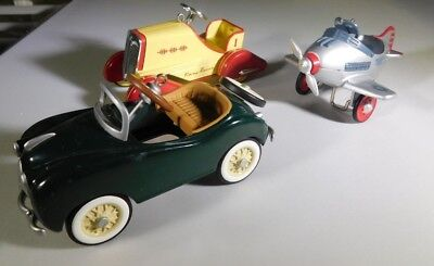 Kiddie Car Classics 2004 Timmy Racer, 2003 Griffin,1996 Hallmark Murray plane #3