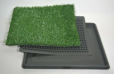 Puppy Potty Patch Pet Trainer Indoor Training Dog Grass Pad Pee Mat Turf 16 x 20