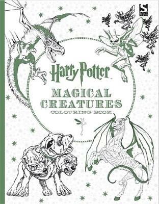 Harry Potter Magical Creatures Colouring Book by BROTHERS W