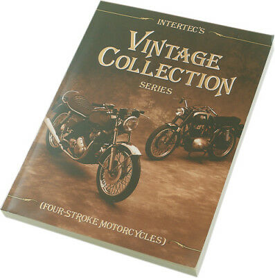 Clymer VCS-4 1960s 1970s Vintage 4-Stroke Motorcycles Repair Service Shop Manual