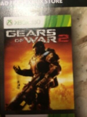 Gears of War 2 - Full game Digital download - Xbox One & Xbox 360 - No Disc