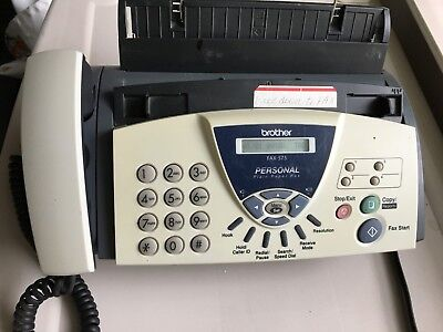 Brother Fax-575 Personal Plain Paper Fax Phone and Copier, ship free